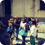 Gli studenti e la sede del Convervatorio