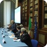 Un momento della presentazione, Mauro Giancaspro