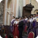 Riccardo Muti con il Senato Accademico - 1