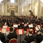 Basilica di San Giovanni Maggiore, la prova d'orchestra