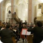 Riccardo Muti dirige l'orchestra del Conservatorio