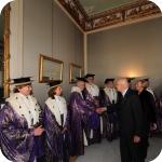 Il Presidente Giorgio Napolitano e il Senato Accademico