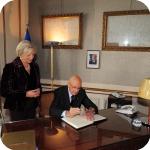Il Presidente Giorgio Napolitano e il Rettore Lida Viganoni, 3