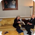 Il Presidente Giorgio Napolitano e il Rettore Lida Viganoni, 4