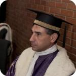 Il Preside della Facoltà di Lingue e Letterature Straniere, Augusto Guarino