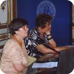 Julia Bamford e Cristina Vallini