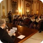 Giuseppe Bellini durante la Lectio Magistralis_2