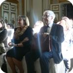 Dalla destra: il professore Vincenzo Placella e Anna Cerbo