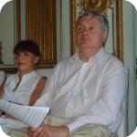 Catherine Chauche e Pierre Blanchaud