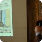 Umberto Cinque illustra la piattaforma interattiva