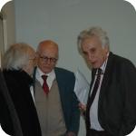 Da sin.: Pasquale Ciriello, Domenico Silvestri e Biagio De Giovanni
