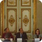 La chiusura dei lavori: Joseph Mifsud, Aureliana Alberici, Giuseppe Cataldi, Antonella Di Nocera, Luigia Melillo