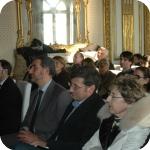 In prima fila, Matteo D'Acunto, Alfredo Carannante, Andrea Manzo, Simonetta Graziani