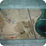 La mappa del sito archeologico