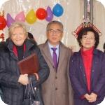 Lida Viganoni e Gong Lonsheng
