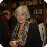 Laura Agrimi nella Biblioteca dedicata a Mario Agrimi