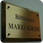 La targa della Biblioteca