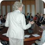 Il Rettore Lida Viganoni durante il saluto - Foto: L'Orientale Web Magazine - wm@unior.it