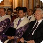 Da sin.: Amedeo Di Maio, Augusto Guarino e Giuseppe Bellini