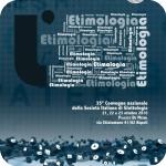 Locandina del XXXV Convegno della Società Italiana di Glottologia