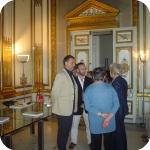 Da sin.: Fabrizio Pesando, Matteo D'Acunto e Lida Viganoni