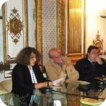 Flavia Cuturi, Arturo Martone e Rosario Sommella