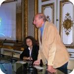 Flavia Cuturi e Arturo Martone