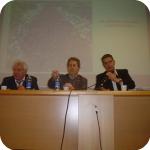 Da sin.: Franco Mazzei, Giorgio Amitrano, Ugo Papi