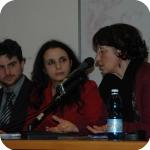 Da sin.: Alberto Giubilini, Francesca Minerva, Enrico Di Salvo, Rossella Bonito Oliva