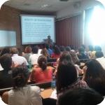 Huang Weiping e gli studenti