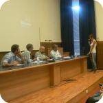 Il dibatitto con gli studenti