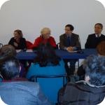 La presentazione (da sin., nell'ordine, Antonella Di Nocera, Annamaria Palermo, Lida Viganoni, Zheng Hao, Gong Longsheng)