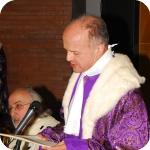 Riccardo Maisano durante la Laudatio Academica