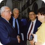 Sulla sinistra Jean-Pierre Vernant