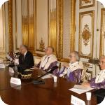 Da sin.: Giuseppe Bellini, Domenico Silvestri, Pasquale Ciriello e Giovanni Battista De Cesare