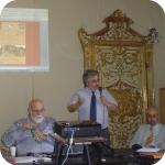Da sin.: I proff. Maurizio Tosi, Bruno Genito, Adriano Rossi