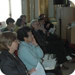 Il pubblico, in primo piano Elda Morlicchio