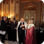 Il Presidente Giorgio Napolitano e il Rettore Lida Viganoni
