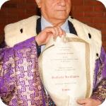 Raffaele La Capria e la pergamena della Laurea