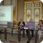 Da sin.: Pietro Giovanni Guzzo, Alain Schnapp e Teresa Elena Cinquantaquattro1