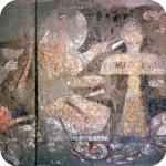 Pittura murale di Varakhsha