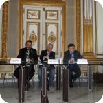 Da sin.: Giuseppe Balirano, Salvatore Luongo, Sebastiano Martelli