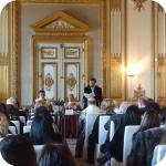 Sala delle Conferenze, la Laudatio di Carlo Vecce