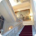 L'androne di palazzo Du Mensil