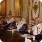 Da sin.: Domenico Silvestri, Pasquale Ciriello e Giovanni Battista De Cesare