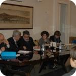 Dalla sinistra: Giuseppe Cataldi, Carlo Sbordone, Massimo Marrelli, Rita Librandi, Nicoletta Maraschio