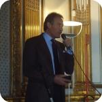 Umberto Cinque durante la presentazione