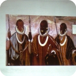 Una delle immagini mostrate: Los mulatos de Esmeraldas