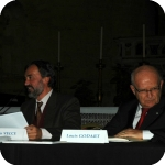 Carlo Vecce e Louis Godart