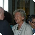 In primo piano, Lida Viganoni, in secondo piano Giorgio Amitrano